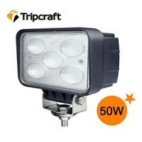 High Performance 4250LM 10-30V 6000K 4 Inch 50W Car Work Light LED offroad 50W CAR OFFROAD WORK LIGHT