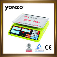 40kg LCD digital price computing scale consumer electronic small scale business