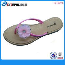 hawai flores de la marca de zapatillas de pvc para las señoras