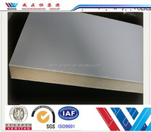 Free samples sandwich panel plate surface exterior metal siding panel PU sandwich panel for cold room