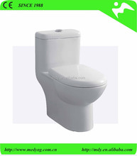best selling elegant modren siphonic wc, smart installation funiture floor mounting under glaze one-piece toilet