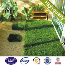 natural Artificial turf synthetic grass 4 tone