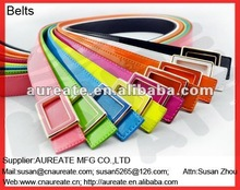 fashion shiny skinny belts