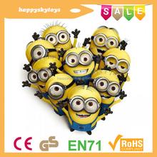 Happy kid toys!!!customized minion plush toy,lovely minion toy,wonderful minion plush toy
