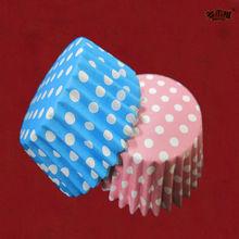 Populares papel manteiga Cakecups