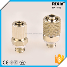 RX-1035 MINI HOSE QUICK COUPLER BRASS FITTINGS 2015