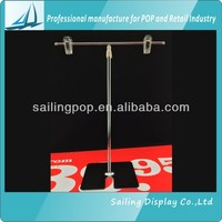 Tabletop Aluminum Display Stand for Poster