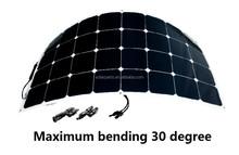 100W Sun power Semi Flexible Solar Panel for RV BOAT Marine