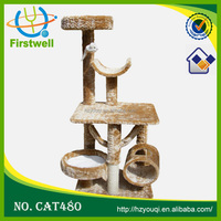 Wooden Cat Furniture,Simple and Cheap Wooden Cat Tree Pet Cages, Carriers & Houses