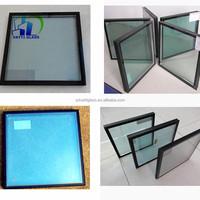 Energy saving vacuum insulated glass/Skylight triple double glazing glass / low e coating glass panels standard sizes