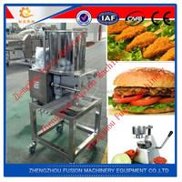 FACTORY BEST PRICE frozen patties machine/burger machinery patties