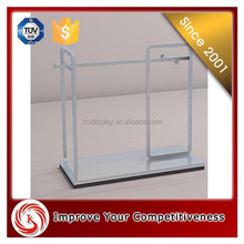 Popular around the world Factory direct provided metal 4 way display rack for clothes