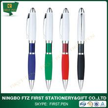 Metal Clip Twist Ballpoint Pen