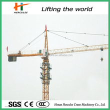 Competitive Construction Tower Crane Manufacturers with 50m Boom Length
