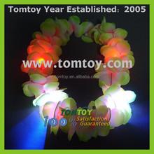 Colorful Glow Charming Light UP Hawaiian Lei