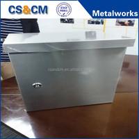 Custom IP65 Stainless Steel Water Proof Enclosure Stainless Steel Electric Box