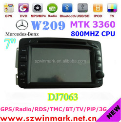 Hot Sale Car Radio Player With Media Player for Mercedes Benz W209 1988-2004 DJ7063