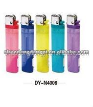 plastic cigarette disposable and refillable flint lighter