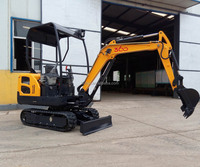 1.5t-6t Mini hydraulic crawler excavator with good quality and best seller
