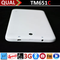Hot Selling 6.5 inch best rated laptops with MTK8312 Dual Core 2G GSM phone calling Bluetooth GPS FM Android 4.2