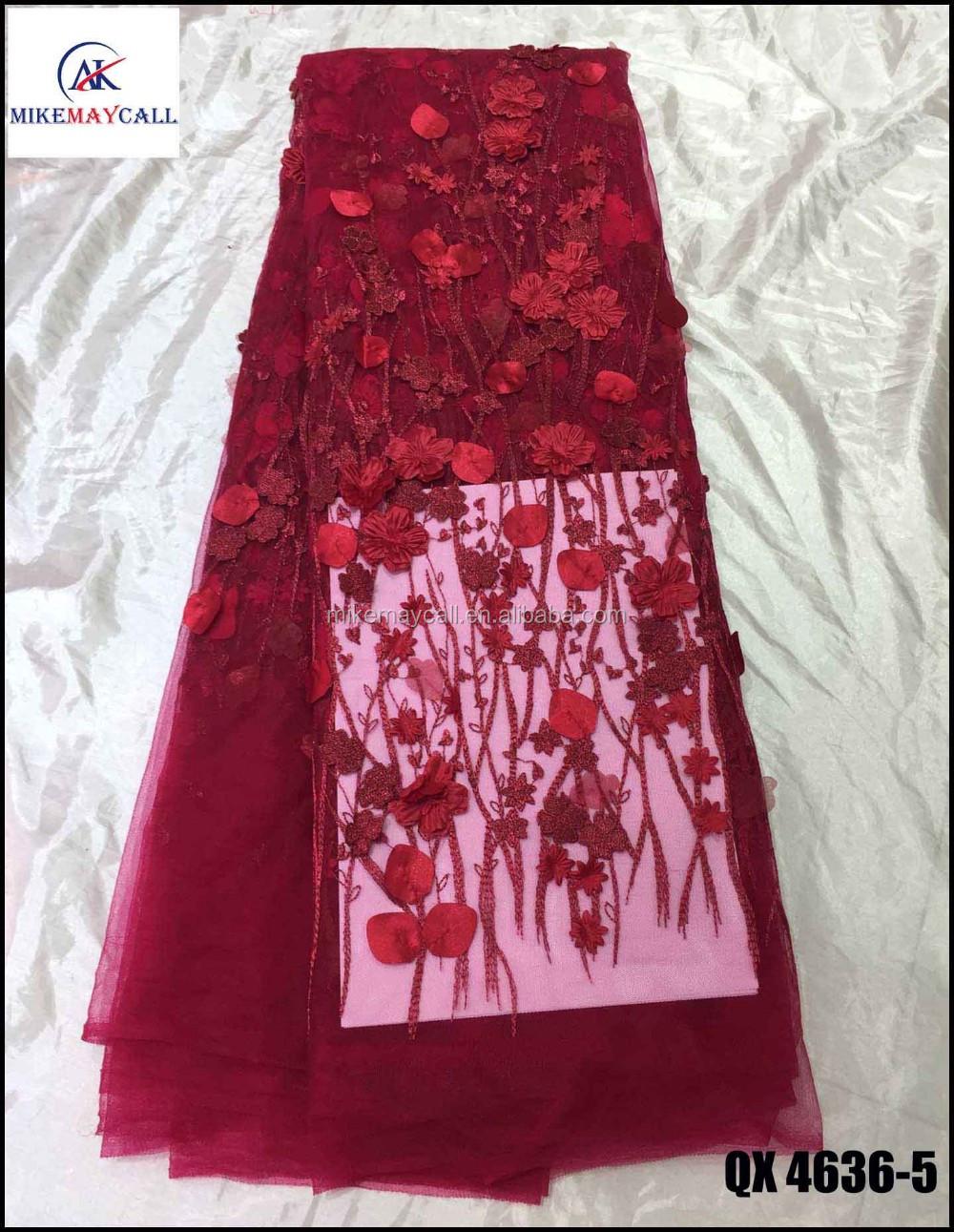 3D diseños apliques bordado de flores de tela de malla de nupcial ...