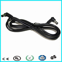24v dc power cable 90 angle dc extension cable
