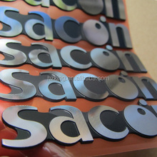 Customized metal logo labels