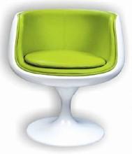 JH108 unique design fancy living room swivel base cup chair