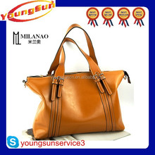 Popular Wholesale High Quality Leather Bags Ladies Hand bag Made in China