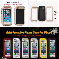 Luxury Genuine metal Case for iphone 6 4.7inch Cover Phone Bags Pouch 2015 New Arrival