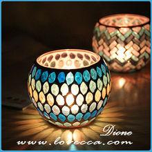 Continental transparent cup candle vase tea cup