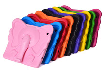 New arrived tablet case for ipad2/3/4 elephant nose stand eva shockproof case for ipad kits case with elephanttrunk stand holder