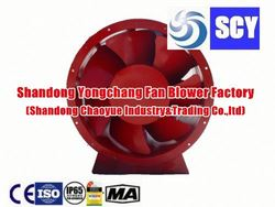 balancing machinery explosion-proof axial fan for cement kiln