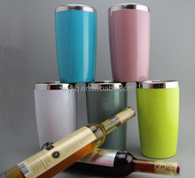 1400ml(45oz) cheap stainless steel/plastic shell double walls ice bucket/wine cooler/beer tube with customized color