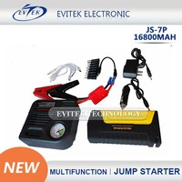 new products 2015 innovative product car jump starter 16800mAh power bank for car,phone,laptop,ipad,etc