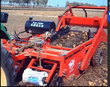 single-row potato harvester machine for sale/potato harvester to tillers/mini potato harvester with walking tractor
