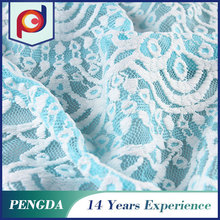 Designer fabric supplier Top quality Floral Knitted ladies lace tops latest design