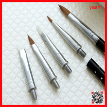 YASHI hot sale nail art brush in nail beauty tools acrylic handle for custom brand name