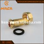 Baixo preço da alta qualidade bronze / ferro medidor de gás conector de tubulação de