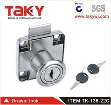 TK-138-22 cerradura del gabinete de hierro