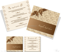 Paper Wedding Invitation Cards &Greeting Card, Printing Card