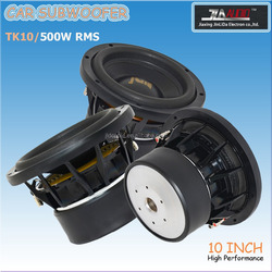 1000W max power Car subwoofer 10 inch with dual stacked 120oz magnets (TK10)