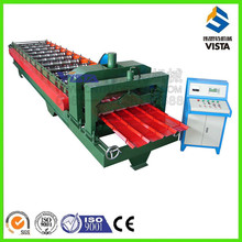 glazed shet roll forming machine, glazed steps roof tile machine