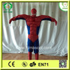 HI CE newest arrival factory price spiderman cartoon costume,mascot costumes for adults