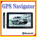 Del coche de navegación gps caja 5.0 pulgadas de pantalla táctil de navegación gps