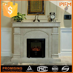 Factory directly sale Top Quality Home decoration quartz fireplace surrounding