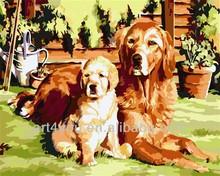 Dog diy painting