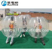 factory supply cheap inflatable football bumper ball for adult sports