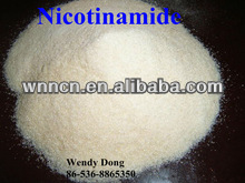 Professional Manufacture Great Supplier of Top Quality 99% Nicotinamide (Vitamin B3) sell hot at factory price, CAS.98-92-0