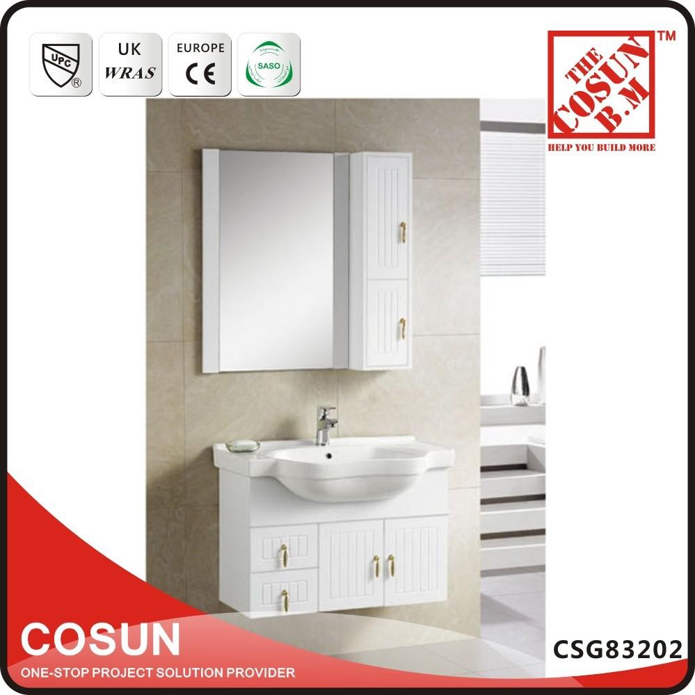 Installation Type Solid Wood Bathroom Vanity Cabinet Combo For Hotel Buy Va